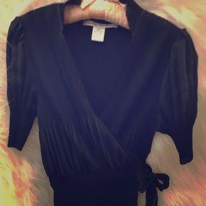 Diane von Fürstenberg wrap shirt
